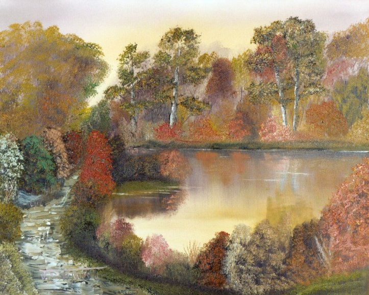 Autumn Lake111